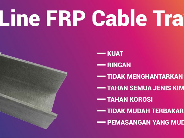 OLine FRP Cable Tray / Kabel Duct