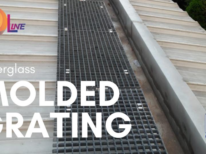 Fiberglass Molded Grating