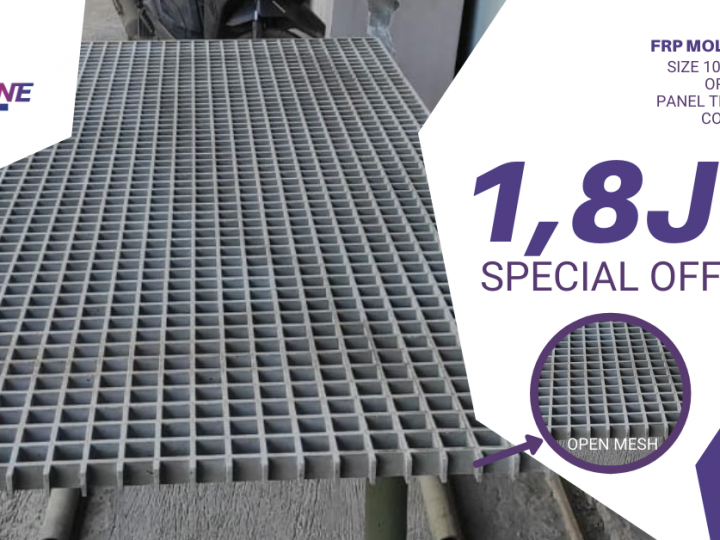 SPECIAL PRICE FRP MOLDED GRATING