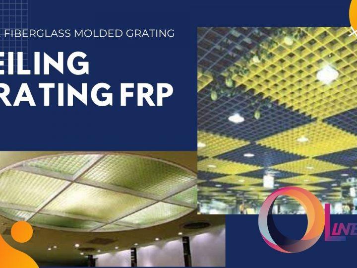 Ceiling Grating FRP
