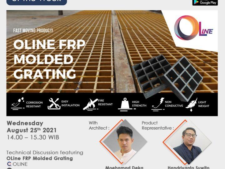 OLine FRP Molded Grating With Catalog Pro