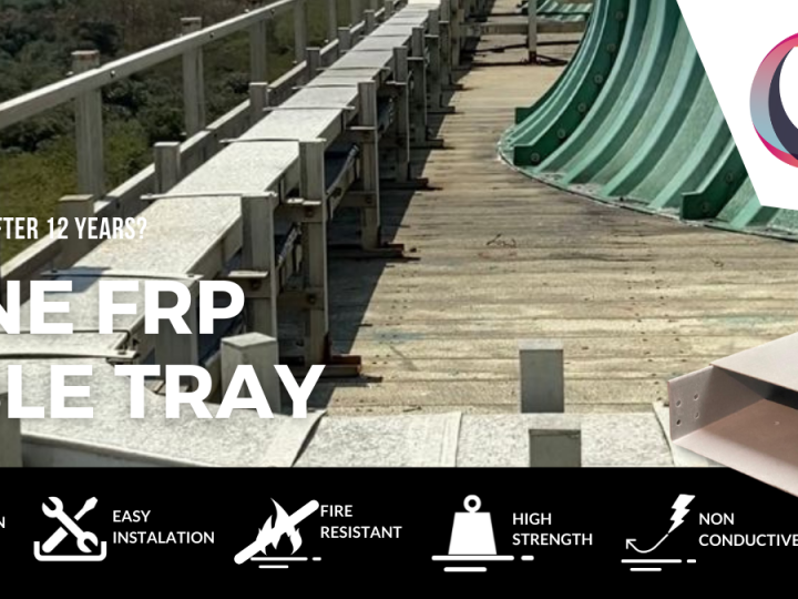 FRP Cable Tray After 12 Years