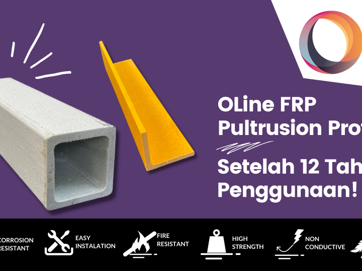 FRP Pultrusion Profile After 12 Years