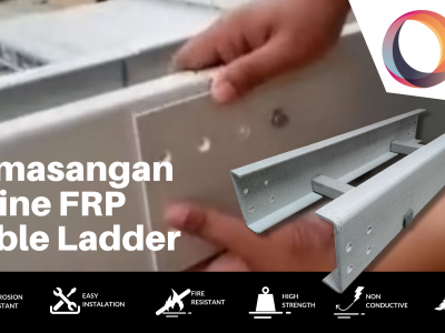 Bagaimana Cara Memasang FRP Cable Ladder?